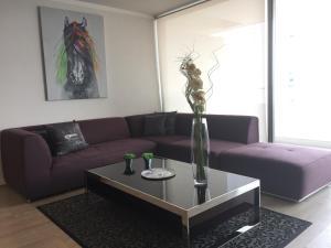 Apartamento Parque Arauco Kennedy, Апартаменты  Сантьяго - big - 5