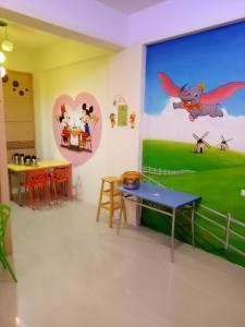Disney B&B, Bed and breakfasts  Taitung City - big - 14