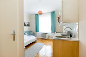 Otto Studios, Appartamenti  Budapest - big - 23