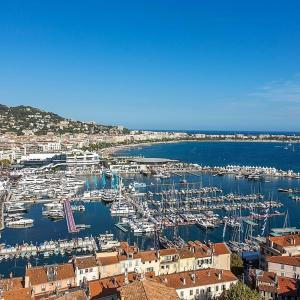 Appartement centre Jaures, Apartmány  Cannes - big - 6