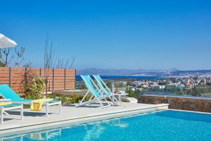 Elysium Hilltop Luxury Villa, Villas  Kato Galatas - big - 16