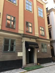 Стокгольм - Hotell Gyllene Geten