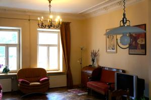 90 sq.m. apartment in centre of Vilnius, Ferienwohnungen  Vilnius - big - 14