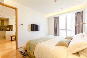 Huanqiu 188 International Apartment, Apartmány  Suzhou - big - 21