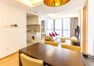 Huanqiu 188 International Apartment, Apartmány  Suzhou - big - 19