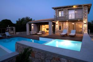Agrikies Villas, Vily  Lefkada Town - big - 33
