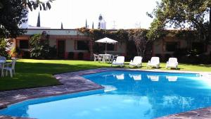 Hotel Los Mezquites, Hotels  Tequisquiapan - big - 33