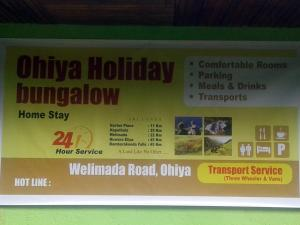 Ohiya Holiday Bungalow