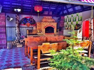 Holiday houses on Severnaya