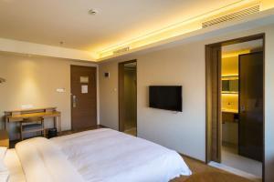 JI Hotel Jinan High-Tech Zone Exhibition & Convention Center, Отели  Цзинань - big - 5