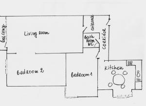 Apartment Ljuben Karavelov, Apartmány  Sofie - big - 17