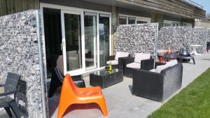 Appartement De Zeehond Amelander-Kaap, Апартаменты  Холлум - big - 28