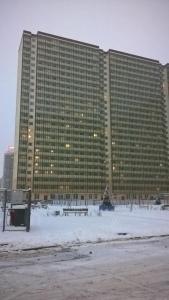 Apartment on Okhtinskaya alleya