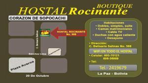 Hostal boutique Rocinante