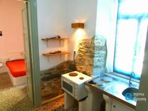 Apano Vrysi, Apartments  Tinos Town - big - 2