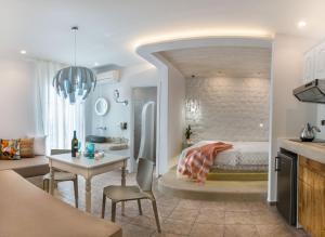 Spiros, Aparthotely  Naxos Chora - big - 186
