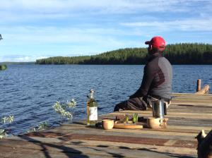 La Cabane des Myrtilles, Bed & Breakfast  Kuusamo - big - 14