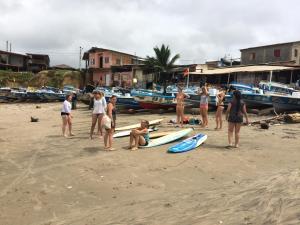 Hostal Puerto Engabao Surf Shelter, Hostely  Engabao - big - 25