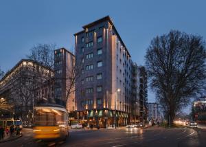 emblème de l'établissement Windsor Hotel Milano