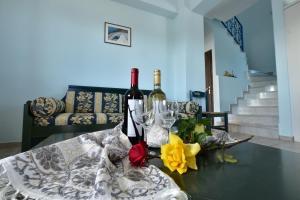 Yiannis Villas, Ferienhäuser  Kountoura Selino - big - 5