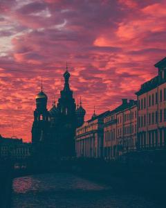 Апартаменты у Млады и Александра, Апартаменты  Санкт-Петербург - big - 4