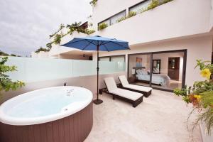 Terrazas 210, Апартаменты  Плая-дель-Кармен - big - 11