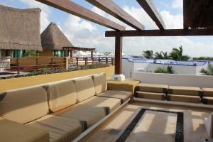 Luxury Condohotel on the Beach, Pueblito Escondido, Апартаменты  Плая-дель-Кармен - big - 30