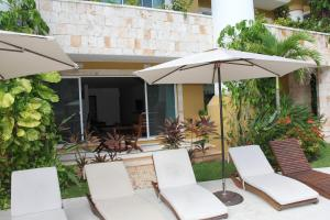 Luxury Condohotel on the Beach, Pueblito Escondido, Apartmanok  Playa del Carmen - big - 14