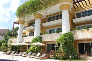 Luxury Condohotel on the Beach, Pueblito Escondido, Apartmanok  Playa del Carmen - big - 13