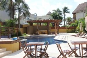 Luxury Condohotel on the Beach, Pueblito Escondido, Апартаменты  Плая-дель-Кармен - big - 61