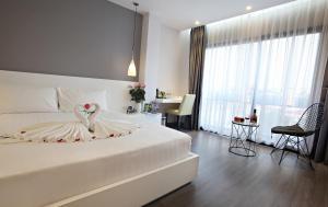 Hanoi Ping Luxury Hotel, Отели  Ханой - big - 17