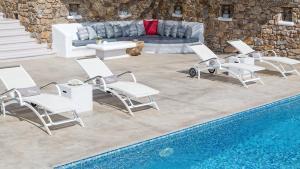 Mykonos Panormos Villas & Suites, Ville  Panormos Mykonos - big - 141
