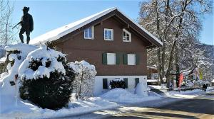 Alpenflair Ferienwohnungen Whg 303, Apartmány  Oberstdorf - big - 22