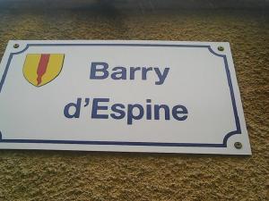 Gite le Barry D'Espine