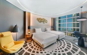 Twin Room with Burj Khalifa View