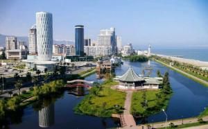 Batumi Sea tower at Sharon's, Apartmány  Batumi - big - 27