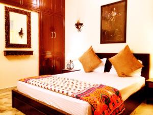 The Buddhayan Villa, Апартаменты  Джайпур - big - 22
