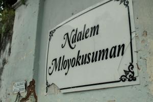 Ndalem Mloyokusuman, Homestays  Solo - big - 8
