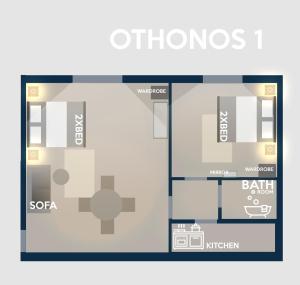 Othonos Apartment, Апартаменты  Афины - big - 8