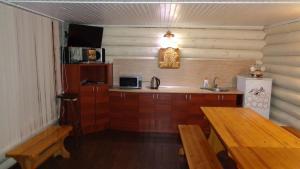 Dom s banej v Lyubyatovo