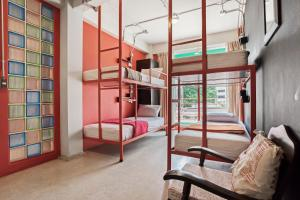 Saladaeng Gallery Hostel By Favstay, Апартаменты  Бангкок - big - 7