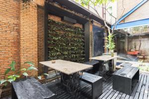 Saladaeng By Favstay, Apartmány  Bangkok - big - 13