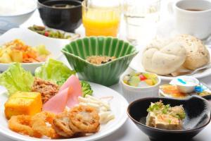 Hotel Route-Inn Mikawa Inter, Gazdaságos szállodák  Hakuszan - big - 39