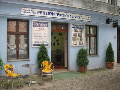 Pension Peter's Service