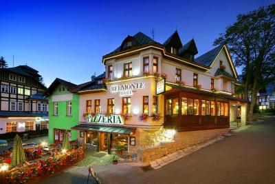 Hotel pizzeria Belmonte Spindleruv Mlyn