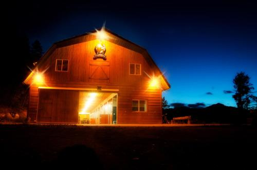 Best Cozy Barn in the Canadian Rocky Mountains!