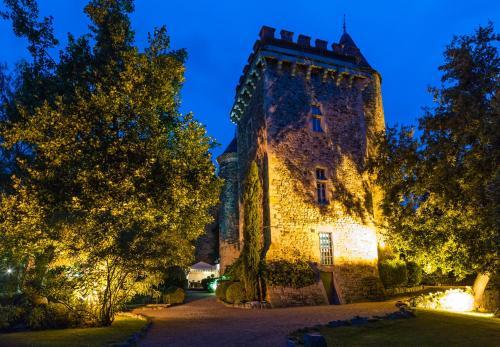 Chateau De Codignat  Moissat  France Overview