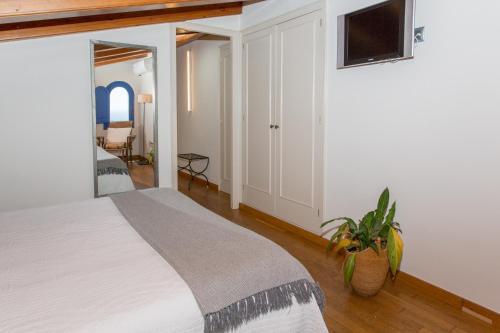 Superior Doppelzimmer - Einzelnutzung Hostal de la Plaça 15