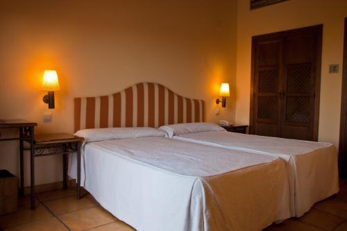 Doppel-/Zweibettzimmer mit eigener Terrasse Cigarral de Caravantes 4