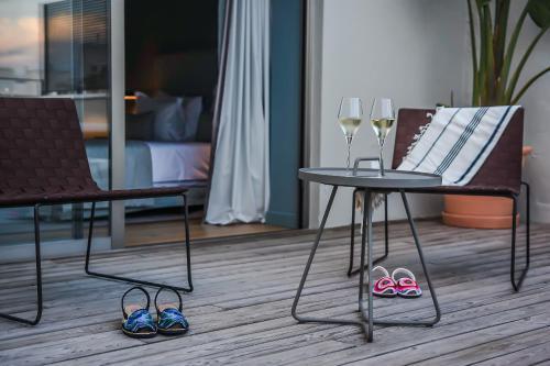 Habitación Doble Superior con terraza Casa Ládico - Hotel Boutique 24